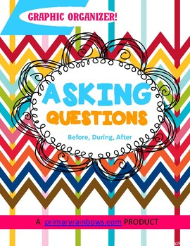 Ask Questions Before, During, After Reading Graphic Organi
