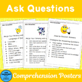 Ask Questions: Posters to Use with The Comprehension Toolkit Book 3