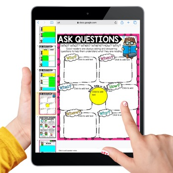 Ask Questions Reading Comprehension & QAR (Question-Answer ...