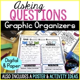Asking Questions Graphic Organizers, Poster & QAR (Questio