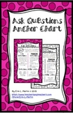 Ask Questions Reading Strategy Anchor Chart