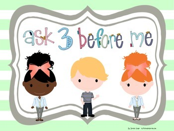 Ask Three Before Me