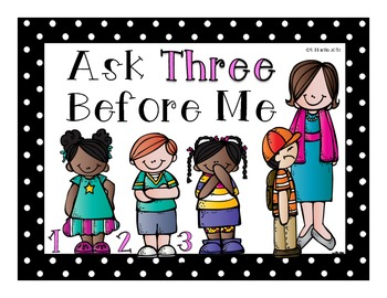 Ask Three Sign