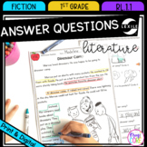 Ask and Answer Fiction Questions RL.1.1