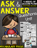 Ask and Answer Questions Unit