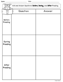 Ask and Answer Questions - CCSS