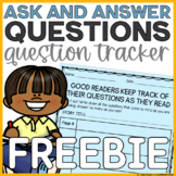Ask and Answer Questions Graphic Organizer (FREEBIE!)