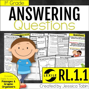 Ask and Answer Questions RL1.1