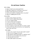 Ask and Answer Questions Listed