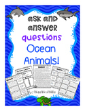 Ask and Answer Questions: Ocean Animals
