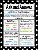 Ask and Answer Questions Poster