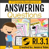Ask and Answer Questions RI3.1