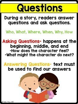 Ask and Answer Questions RL3.1