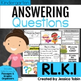Ask and Answer Questions RLK.1