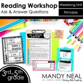 Ask and Answer Questions Reading Workshop Unit