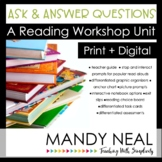 Ask and Answer Questions Reading Workshop Unit Print + Dig