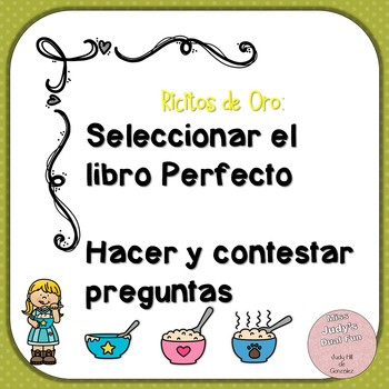 Ask and Answer Questions and Finding the right book: Ricitos de Oro