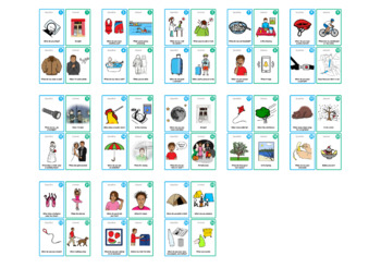 """Ask and Answer """"When?"""" Questions Cards - Super Duper Educational Learning Toy"""