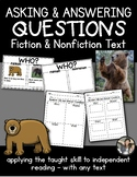 Ask and Answering Questions {Primary Readers F/NF}
