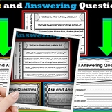Ask and Answering Questions Worksheets (Cut and paste Optional) RL1.1