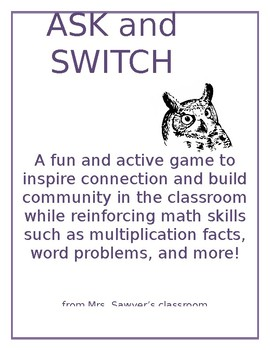 Ask and Switch Math Game
