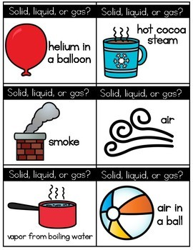 Ask and Switch: States of Matter