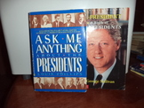 Ask me anything  Presidents,A book of U.S, Preidents (set of 2)