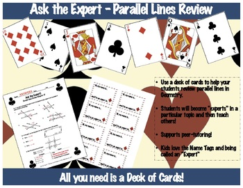 Ask the Expert - Parallel Line Review Activity