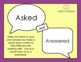 Asked and Answered: A Social Story to Reduce Power Struggles