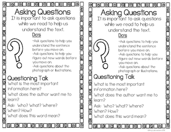 Asking And Answering Questions RI.2.1