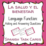Asking & Answering Questions About Health in Spanish - La