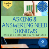 Asking & Answering Questions Activity