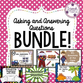 Asking and Answering Questions BUNDLE
