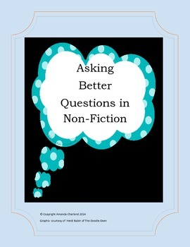 Asking Better Questions in Non Fiction