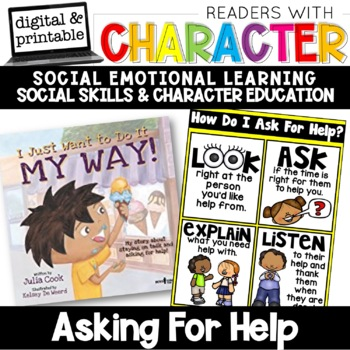Asking For Help - Character Education | Social Emotional Learning SEL