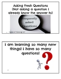 """Asking """"Fresh"""" Questions (Not Asking Questions I already know the answer to)!"""