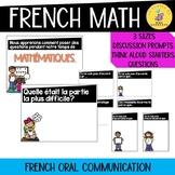 French math talk I French math communication posters