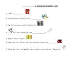 Asking Permission Card