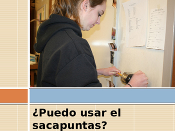 Vocabulary Spanish PowerPoint
