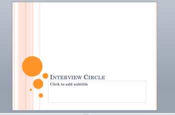 Asking Questions Appropriately Powerpoint and Discussion Based Circle Activity