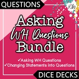 2 Asking Questions Speech Therapy Games (Asking WH Questions & more)