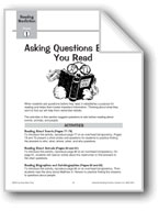Asking Questions Before You Read