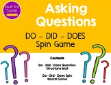 Asking Questions: Do, Did, Does Spin Game