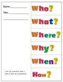 Asking Questions Foldable