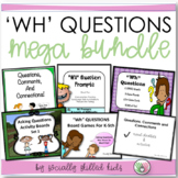WH QUESTIONS MEGA Bundle! {Differentiated Activities and Visuals For K-5th}