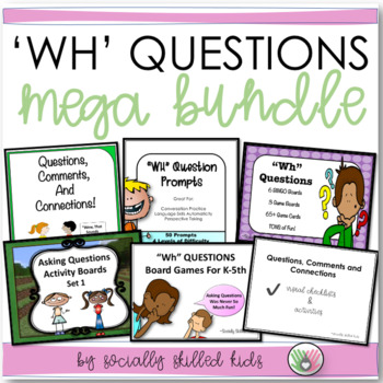 """Wh"" Questions~ Mega 6 Pack!"