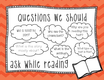 Asking Questions Graphic Organizer & Poster