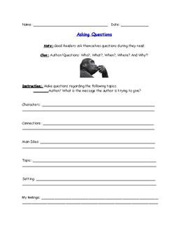 Asking Questions/ Haciendo Preguntas