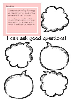 Asking Questions & Inferencing Worksheets_Common Core Aligned