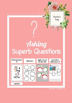 Asking Questions & Inferencing Worksheets_Common Core Aligned(Sample)
